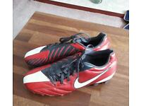 Nike football boots size 7