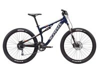 Mountain bike Kona precept 120 2017 full suspension