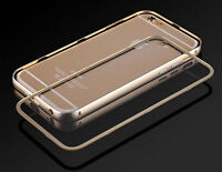 Metal Aluminum Frame & Protective Screen Cover for iPhone 6