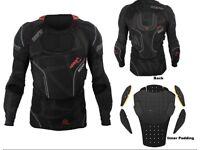 Leatt 3df airfit body protector motorcross/enduro bmx mtb