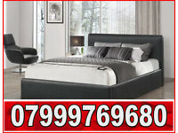 DOUBLE LEATHER BED AND MATTRESS BRAND NEW VERY GOOD QUALITY45