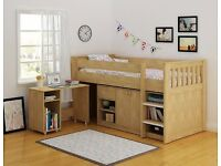 Merlin study bunk bed