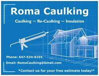 Roma Caulking - Caulking/Re-Caulking - Free Estimate