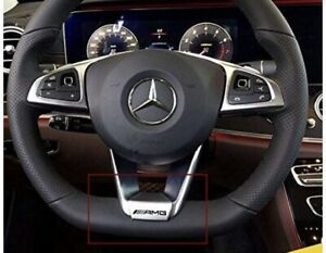 AMG STEERING WHEEL BADGE