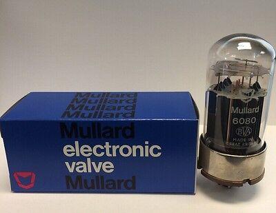 6080 MULLARD NOS BOXED VALVE/TUBE