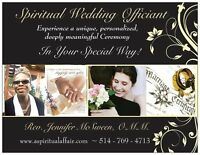 SPIRITUAL WEDDING OFFICIANT