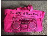 Retro boom beach bag brand new