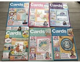 Huge Bundle 18x Simply Cards & Papercraft Magazines, each one £6.99-£7.99 so £132 Worth