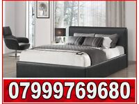 DOUBLE LEATHER BED AND MATTRESS BRAND NEW VERY GOOD QUALITY