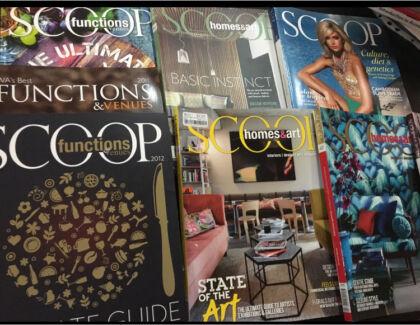 Scoop magazines