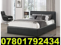 BED DOUBLE BED WITH MATTRESS STILL- WRAPPED 81356