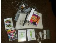 Wii console and extras