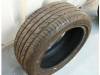 1 x 195/45/15 tyre for sale with over 5mm tread!