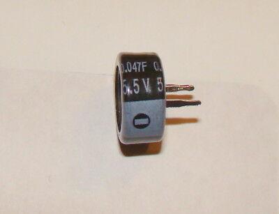 1 Pc 0.047f 5.5v Memory Backup Capacitor Supercap
