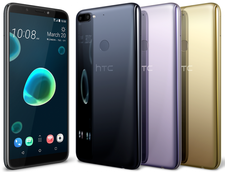 HTC Desire 12+ Plus Unlocked 32GB 3GB RAM Dual Sim 4G LTE Ph