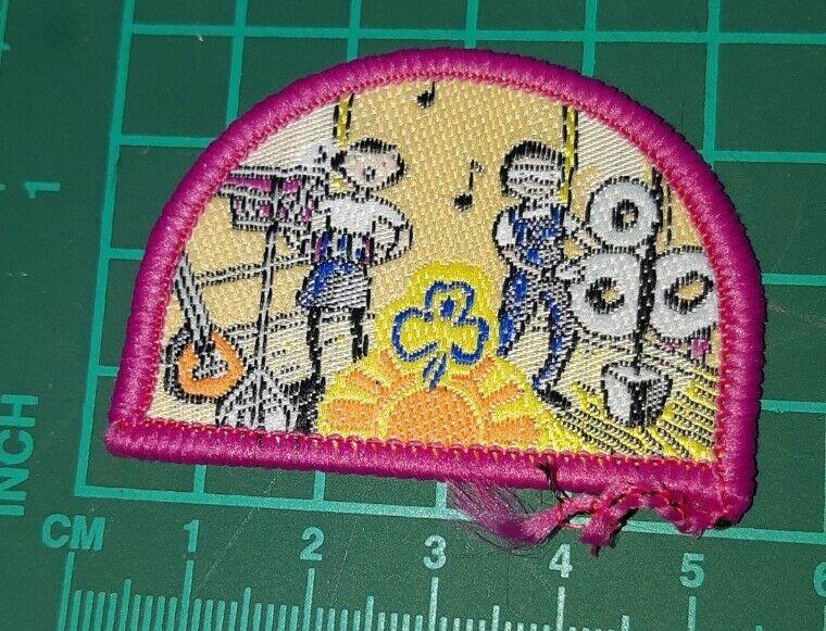 Girl Guides Australia Explore a Challenge Badge - The Arts (music)