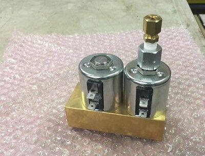 New Midmark Ritter M9 M11 M9d M11d Autoclave Fill Vent Valve Assemble Sterilizer