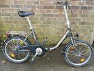 "Travel Easy-Bike Alu... 20"" Folding bike. 3 gears Sturmey Archer-Price reduced-bargain"