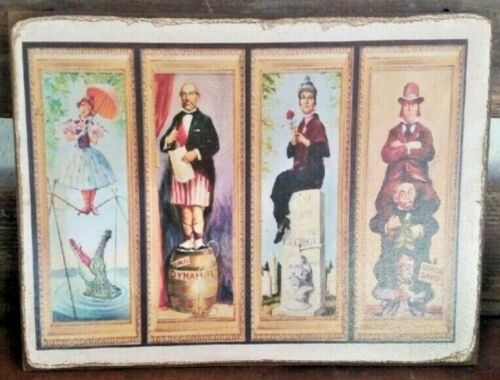 HAUNTED MANSION Handmade Stretching Room Walt Disney vintage Ride sign