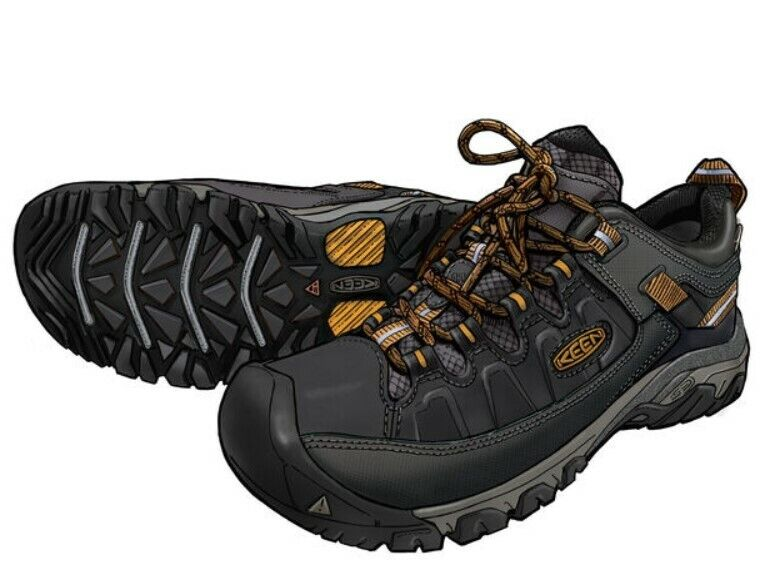 New! Duluth Trading Men's KEEN Targhee III Leather Waterproo