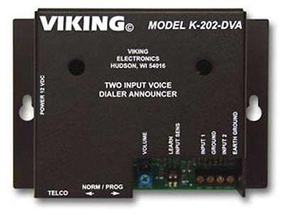 VIKING K-202-DVA Two-Input, Multi-Number Auto Dialer Viking Auto-dialer