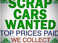 Scrap cars top prices payed fast collection