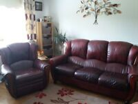 Sofa for sale Italian leather very good condition