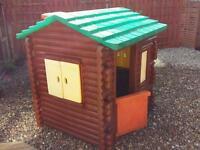 Little tikes log cabin playhouse