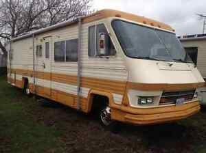 1986 RV - 33' - $3,500.00 or best offer