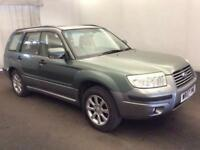 2007 Subaru Forester 2.0 XEn 5dr Petrol green Manual