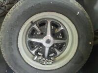 Ford 16e cortina wheels(suit mk2 escort capri etc)