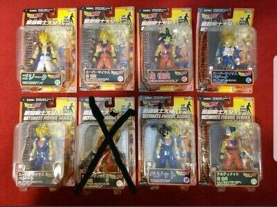 Dragon Ball Z Ultimate Figure Series! 7 Figures  Dragon Ball Z-ultimate Collection