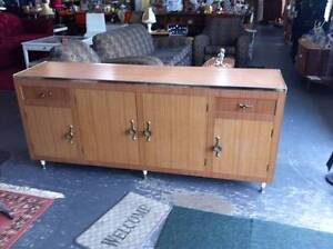 Retro Kitchen Bench Buffet Sideboard Kitchen Cupboards Clearview Port Adelaide Area Preview