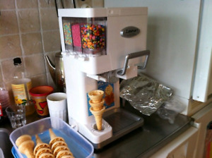 Cuisinart soft serve ice cream maker!
