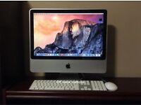 iMac 21.5 Intel 8GB RAM Apple original Keyboard+Mouse latest software fully Working