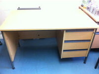 FREE Office desks x 2 (70cm x 121cm) pick up from near Turnpike Lane