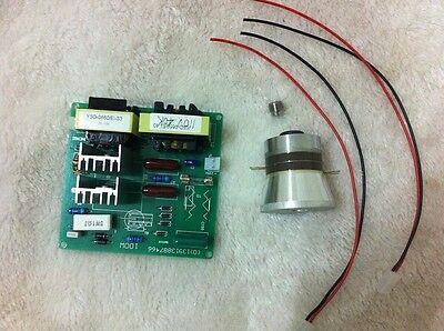 Ac110v 100w 28khz Ultrasonic Cleaning Power Driver Board1pcs 60w 28k Transducer