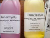 lexmark c510 Toner top up 4 colors
