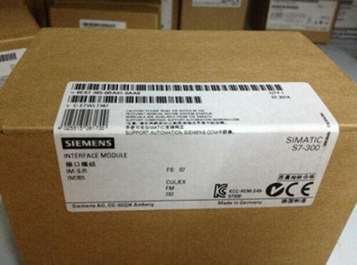 1pc  New Siemens Plc 6es7 365-0ba01-0aa0