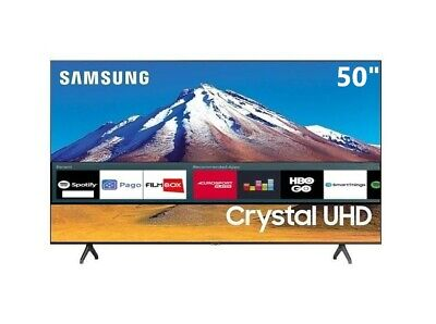 "Televisore Smart TV Samsung 50"" UE50TU7092 50"" ULTRA HD 4K HDR DVB-T2 WiFi Nero"