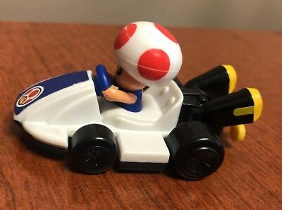 Toad Mario Kart (Super MARIO KART Toad NINTENDO 2014 McDonalds MUSHROOM CAR RACER Happy Meal)