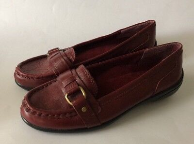 Easy Spirit Capital Red Women S Loafer Shoes   Size 6