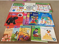 Bundle of children's educational books
