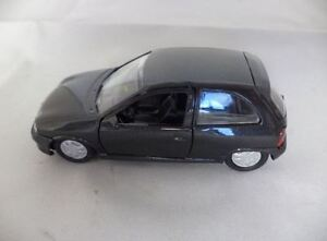 GENUINE Vauxhall Corsa B GSI (Black) 1:43 Diecast Model Car