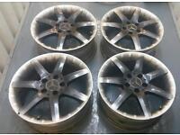 "Genuine Mercedes SLK 17"" alloy wheels 5x112 vw Audi vag"