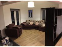 Large 2 bed flat overlooking park S2