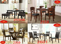 On Sale Finesse, dinette sets, tables, fabric, chair, dining set