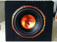 Edge 750 watts sub with built in amp
