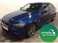 £193.93 PER MONTH - 2010 3 SERIES BMW 320D 2.0 SPORT PLUS MANUAL DIESEL