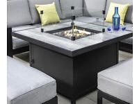 BRAND NEW & BOXED - Large Hartman Glass Fire Pit Table